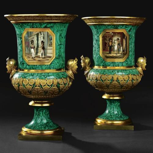 коллекция русского императорского фарфора