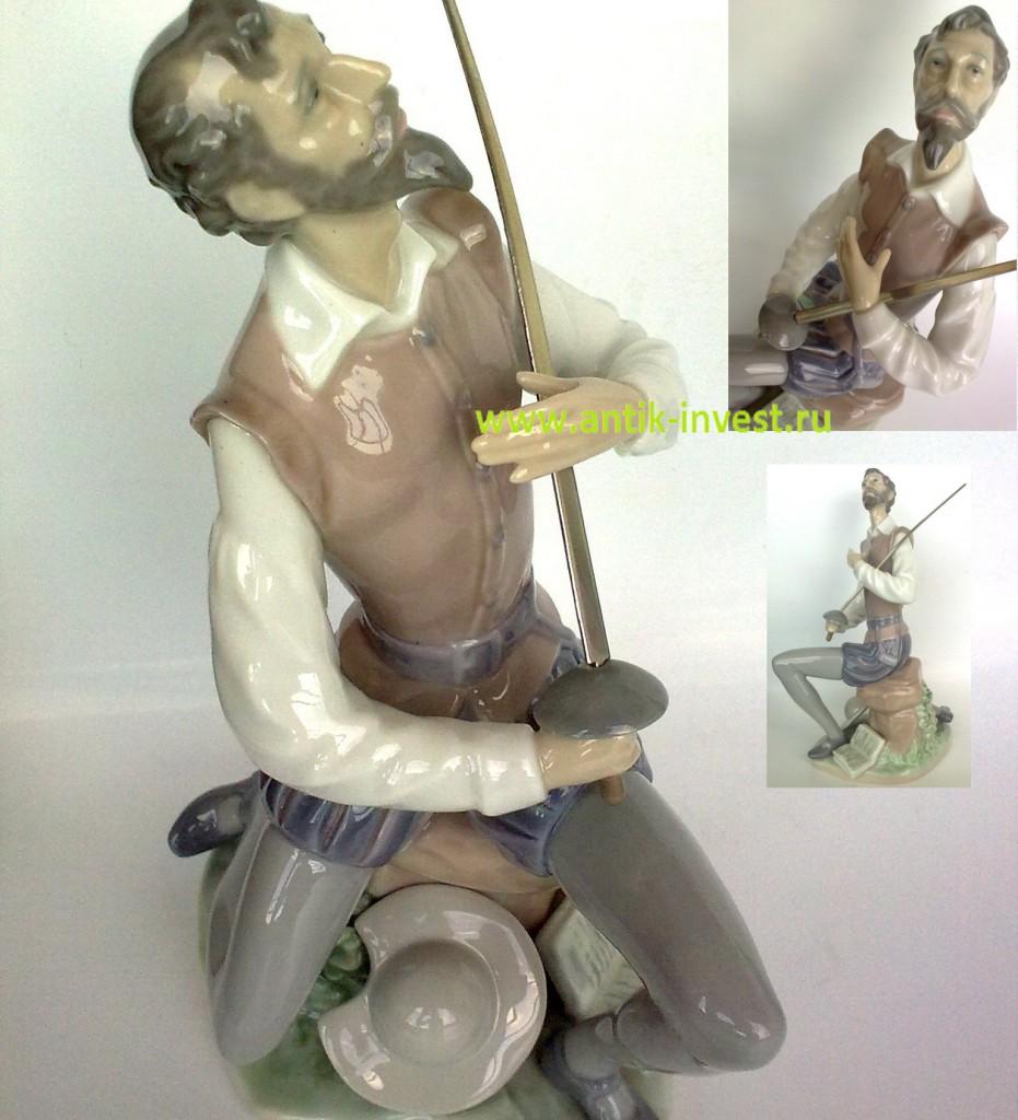 КУПИТЬ фарфор ладро Дон Кихот фарфоровая статуэтка Лядро LLADRO