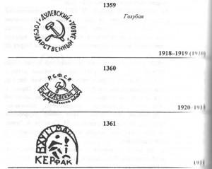 Дулевский Государственный фарфоровый завод 1918 - 1920