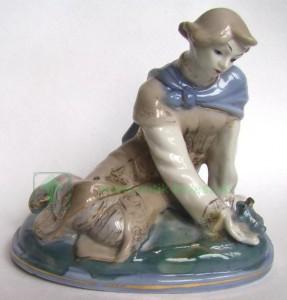 фарфоровая статуэтка Старая Гжель старой гжели статуэтки советского периода бессарабова