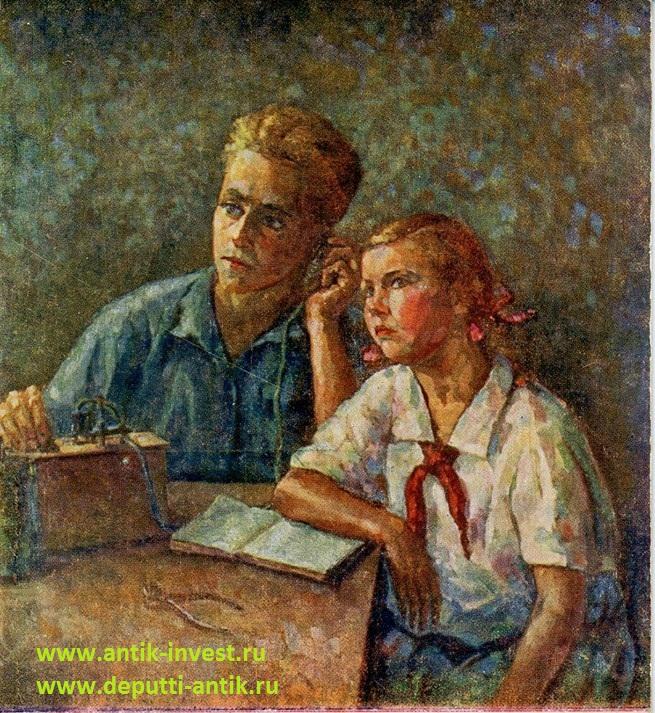 редкие открытки СССР
