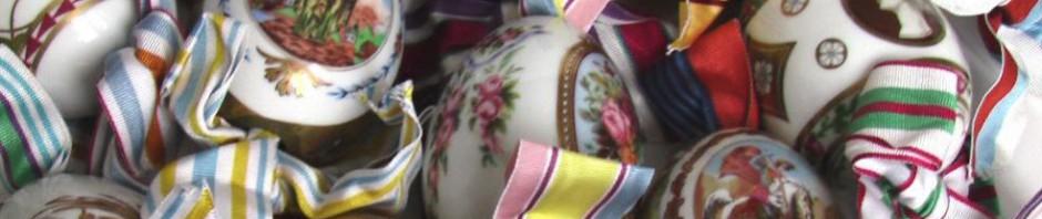 фарфоровые яйца ИФЗ императорский фарфоровый завод
