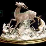 Статуэтка фарфоровая Лядро LLADRO Охота 28х42х16 старт 200 евро