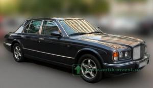 автомобиль машина цены фото Бентли BENTLEY Arnage 1998 купить продать ретромобиль ретро