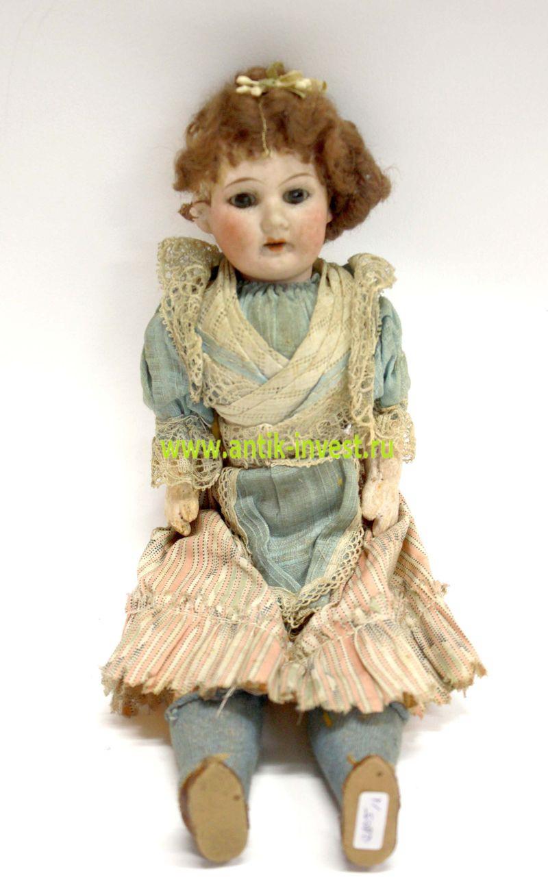 антикварная немецкая фарфоровая кукла германия антиквариат