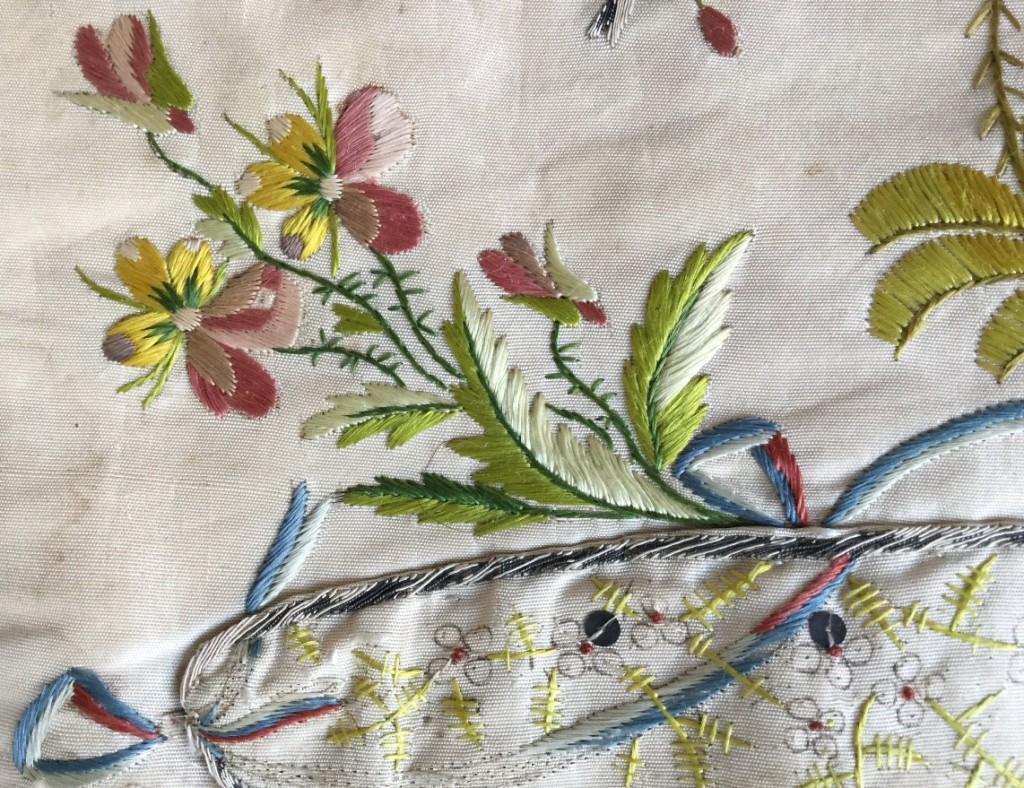 реставрация старинного текстиля в домашних условиях