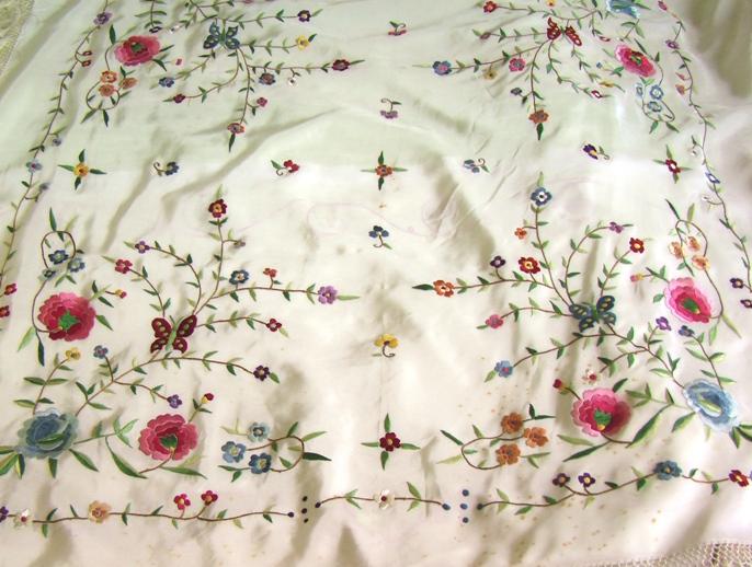 купить шаль продажа испанских шалей