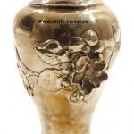 ваза серебряная высота 18см вес 286 грамм интернет аукцион антиквариата
