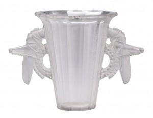 ваза стекло Rene Lalique