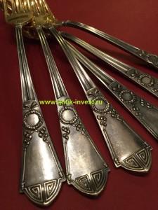 купить продать старинное русское серебро Фаберже