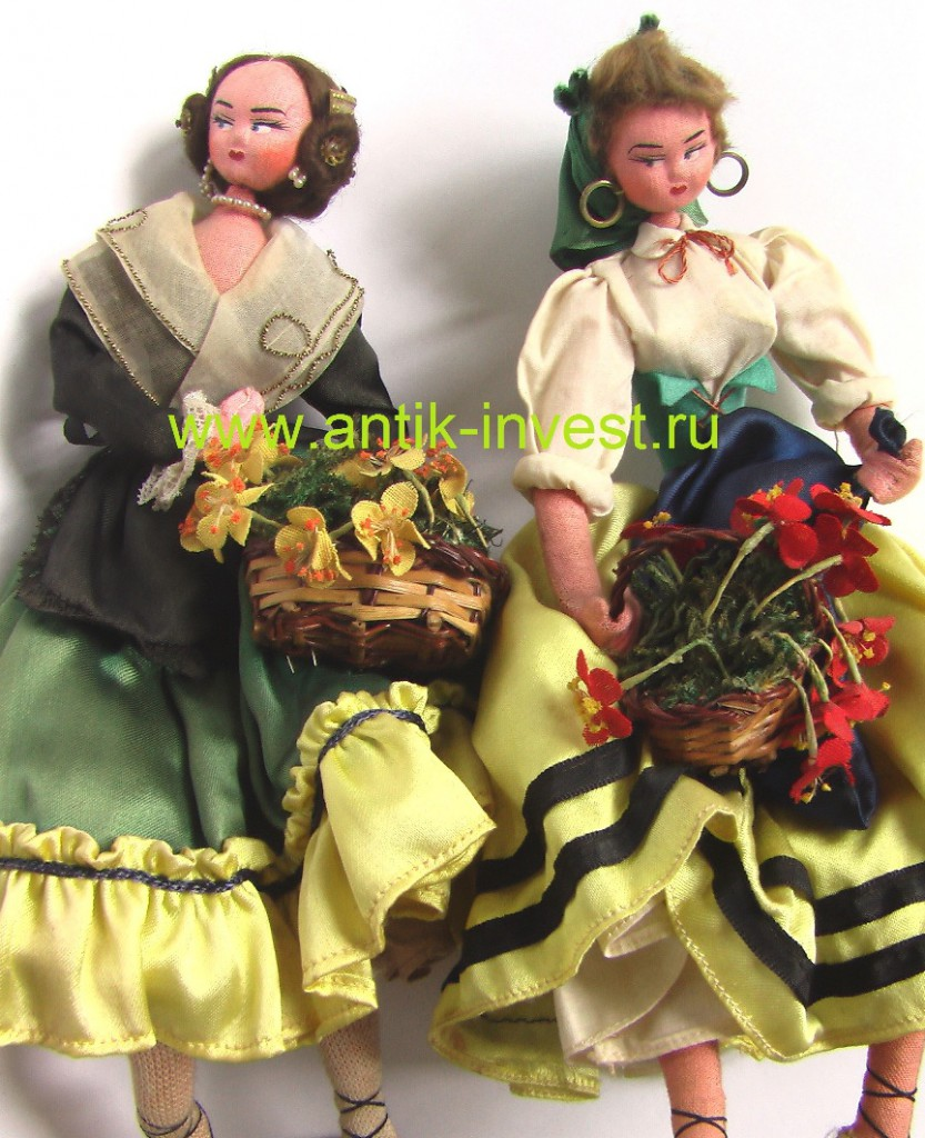 купить винтажные испанские куклы