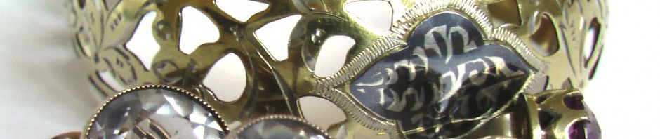винтажные серебряные запонки с хрусталем браслет кубачи серьги СССР 875 проба