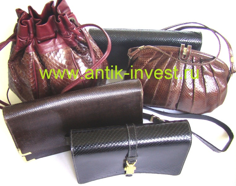 купить сумку из кожи питона кожаный клатч барсетка радикюль