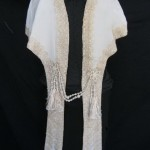 накидка воротник кружева шелк кисти 1907