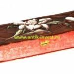 декоративная старинная коробка футляр для перчаток веера модерн