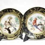 продажа антиквариата декоративные настенные тарелки Лимож Limoges 22 см живопись