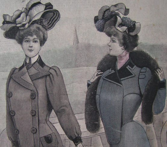 исторический костюм начала 20 века французские журналы мод