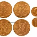 золотые медали монеты 180 грамм золота лот нумизматика интернет аукцион антиквариат