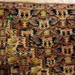 иранский шерстяной двухсторонний ковер килим75х100 старт 150 евро