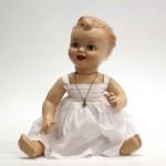испанская пластмассовая кукла Диана модель Pirri 38 смзакрывающиеся глазки стеклянные с ресничками рот открыт зубки
