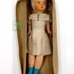 испанская старинная кукла композит родная коробка 28 см