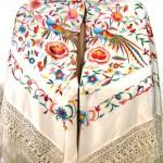 купить шелковую шаль испанскую с бахромой