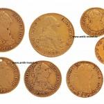 испанские золотые монеты 26 грамм интернет аукцион нумизматический