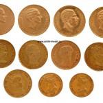 испанские золотые монеты 74 грамма золото нумизматический аукцион
