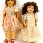 испанские коллекционные куклы из композита глаза спящие рот открыт 65 см 1950-годы