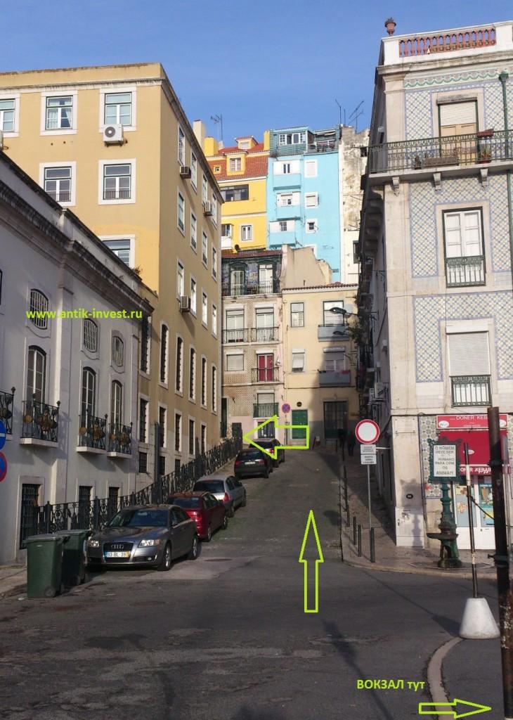 воровской рынок в Лиссабоне
