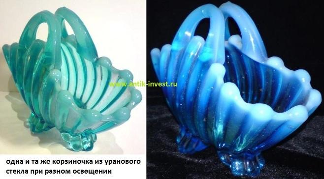 как отличить урановое стекло купить посуда из уранового стекла