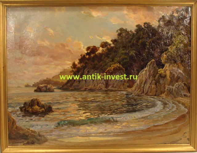 продажа антиквариата испанские мастера художники