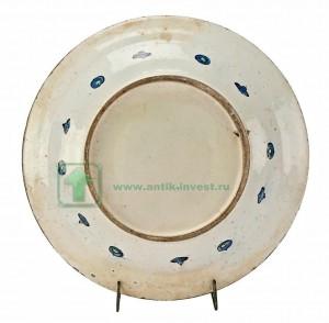 керамическая тарелка 1575 год iznik интернет аукцион антиквариата купить продать антиквариат