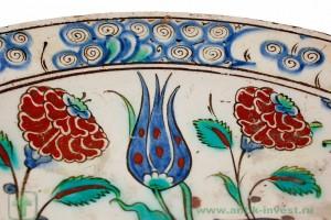 керамическая тарелка 1575 год iznik интернет аукцион антиквариата купить антиквариат продать