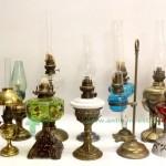 керосиновые лампы коллекция лот 63см старт 850 евро
