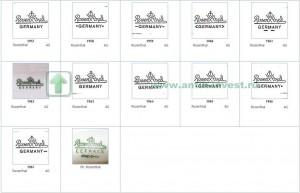 каталог клейм немецкого фарфора клейма фарфора розенталь rosenthal