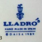 клеймо ладро lladro лядро марка каталог фарфор статуэтки
