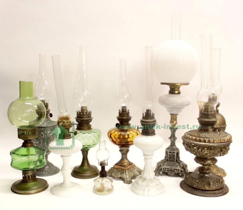 коллекция керосиновых ламп 61см старт 850 евро
