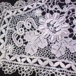 красивый кружевной воротник продажа антиквариата старинный текстиль кружево