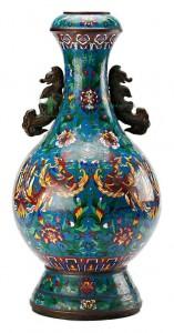 кувшин клуазоне XIX век 65 см старт 500 евро