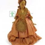 кукла бомбоньерка шкатулка из керамики испания 1930 годы