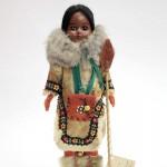 кукла в национальном костюме индианка 28 см глазки закрываются твердый пластик родная оригинальная одежда