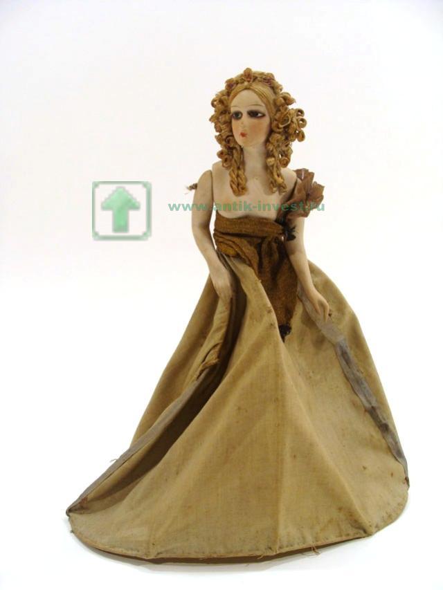 кукла манекен адаптирована фарфоровая 33 см