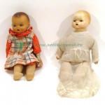 куклы из композита и керамики с тряпочным телом 41 см