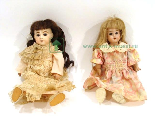 куклы старинные французская DEP артикуляция втроая реставрирована