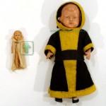 куклы целулоидные германия 13 см пупсик 5см