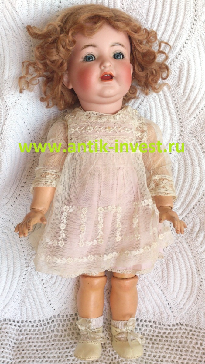 купить кукла Kammer & Reinhardt mold 126 K & R Simon Halbig Bisque Head Compostion Body Antique doll simon halbig 126