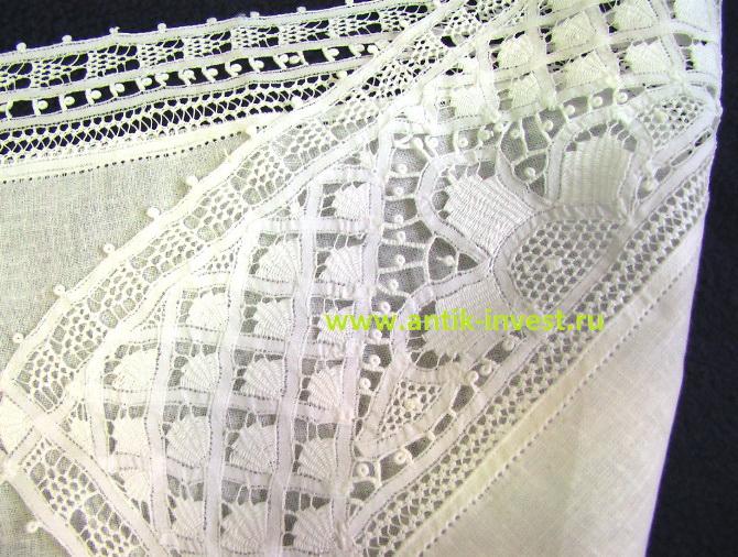 купить старинное кружево салфетка кружевная плетение 32 на 48 см