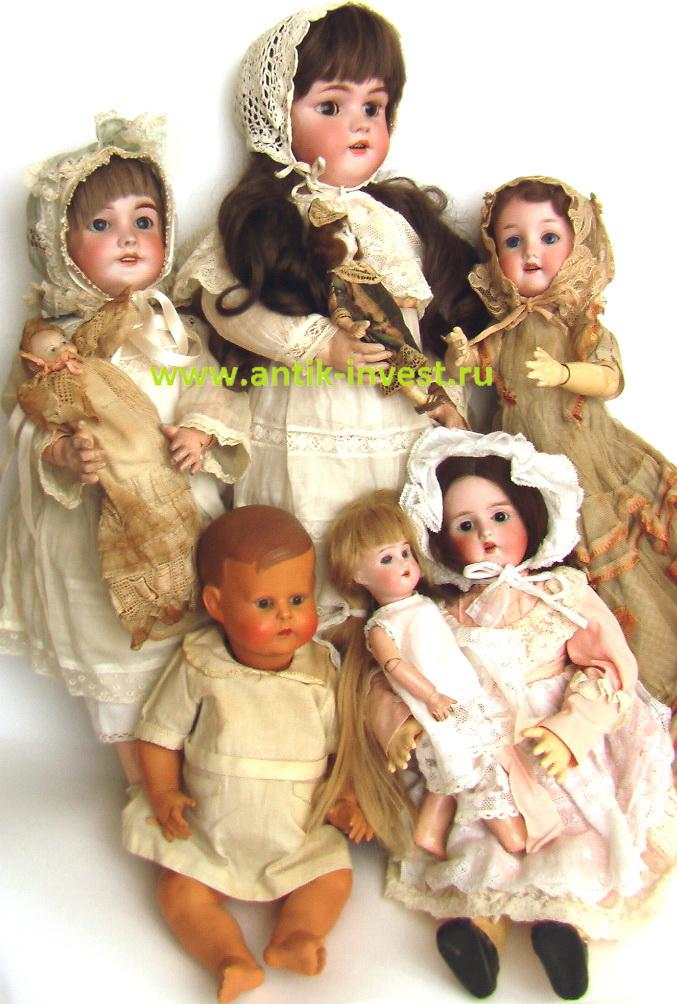 antik-invest.ru antique dolls онлайн продажа старинных антикварных кукол в Москве