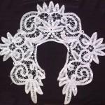 ирландское ленточное кружево старинный воротник продажа антиквариата текстиль кружево